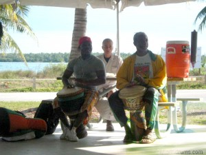 Virginia Key drum circle
